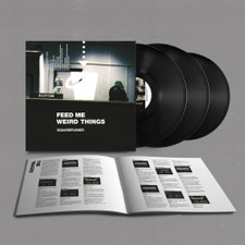 "Squarepusher - Feed Me Weird Things - 2x LP Vinyl+10"""