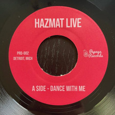 "Hazmat Live - Dance With Me / 1984 - 7"" Vinyl"