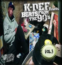 K-Def - Beats From The 90's Vol. 3 - LP Vinyl