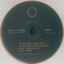 """De-Tu & Congi - Off My Chest - 12"""" Vinyl"""