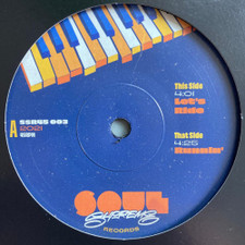 """Soul Supreme - Let's Ride / Runnin' - 7"""" Vinyl"""