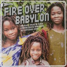 Various Artists - Fire Over Babylon (Dread, Peace & Conscious Sounds At Studio One) - 2x LP Vinyl