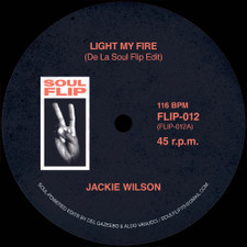 """Jackie Wilson / The Supremes - Light My Fire / The Happening (Edits) - 7"""" Vinyl"""