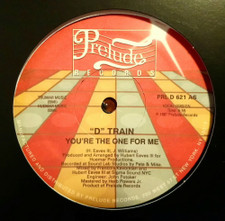 """D Train - You're The One For Me - 12"""" Vinyl"""