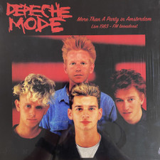 Depeche Mode - More Than A Party In Amsterdam Live 1983 - LP Vinyl