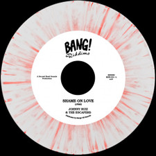 """Johnny Ruiz & The Escapers - Shame On Love - 7"""" Red Vinyl"""