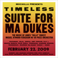"""Miguel Atwood-Ferguson - Mochilla Presents Timeless: Suite For Ma Dukes - The Music Of James """"J Dilla"""" Yancey RSD - 2x LP Vinyl"""