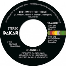 """Channel 3 - The Sweetest Thing / Someone Else's Arms RSD - 7"""" Vinyl"""