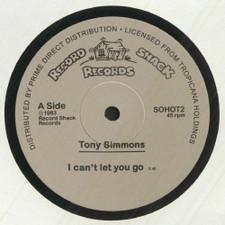 """Tony Simmonds - I Can't Let You Go - 12"""" Vinyl"""