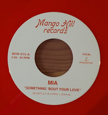 """Mia - Something 'Bout Your Love - 7"""" Colored Vinyl"""