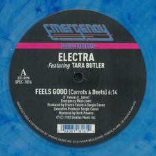 """Electra - Feels Good (Carrots & Beets) - 12"""" Colored Vinyl"""