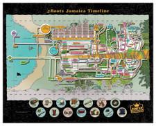 "J Roots - Jamaica Time Line - Puzzle+CD+7"""
