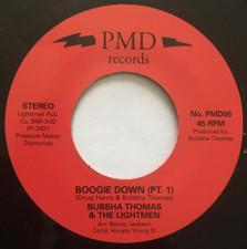 """Bubbha Thomas & The Lightmen Plus One - Boogie Down - 7"""" Vinyl"""