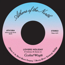 """Crystal Winds - Lovers Holiday - 7"""" Vinyl"""