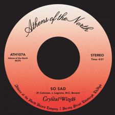"Crystal Winds - So Sad - 7"" Vinyl"