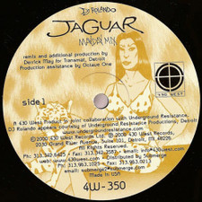 """DJ Rolando - Jaguar (Mayday Remixes) - 12"""" Vinyl"""