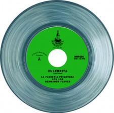"""La Floreria Primavera Con Los Hermanos Flores - Culebrita / La Primera Rosa - 7"""" Clear Vinyl"""