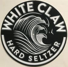 White Claw - Logo White on Black - Single Slipmat