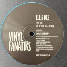 "Ellis Dee - Big Up Your Chest (Remix) / Junglist Warrior - 12"" Vinyl"