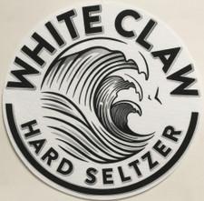 White Claw - Logo Black on White - Single Slipmat