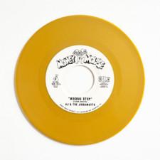 "AJ & The Jiggawatts - Wrong Step - 7"" Colored Vinyl"