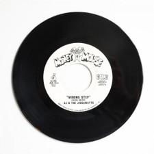 "AJ & The Jiggawatts - Wrong Step - 7"" Vinyl"