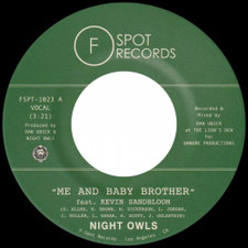 """Night Owls - Me and Baby Brother - 7"""" Vinyl"""