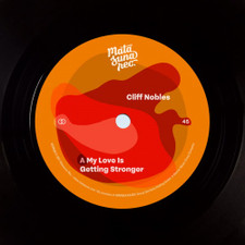 """Cliff Nobles / Russell Evans - My Love Is Getting Stronger / The Bold - 7"""" Vinyl"""