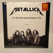 Metallica - Live At Winston Farm NY Aug 13th 1994 - 2x LP Colored Vinyl