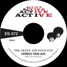 """The Sweet & Innocent - Express Your Love / Cry Love - 7"""" Vinyl"""