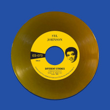 """Syl Johnson - Different Strokes / Is It Because I'm Black - 7"""" Colored Vinyl"""