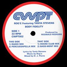 """Rog'e / Tanya Stevens - Body Fidelity - 12"""" Vinyl"""