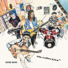 """blu.collective - Rising Above - 7"""" Vinyl"""