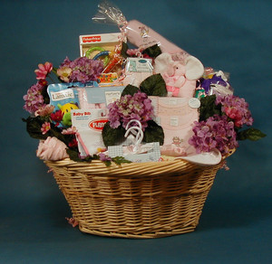 It's A Wrap! Customizes Baby Baskets to your price point.