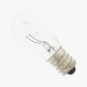 3S6120V Candelabra Screw Incandescent S6 120V 3W E12