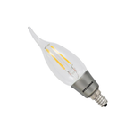 Osram Sylvania B10 4.5W Candelabra Screw LED Filament Lamp (Bent Tip)