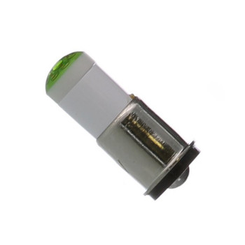 6MF-G-6P Multi-Chip Flange 6V Green LED