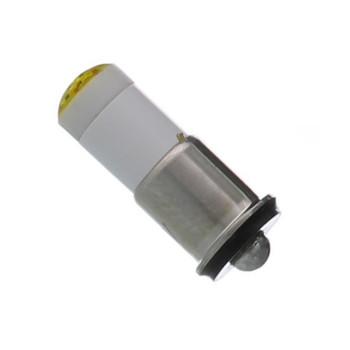 6MF-Y-6P Multi-Chip Flange 6V Yellow LED
