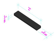 EPDM Rubber Setting Blocks
