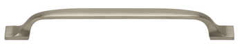 Boston Collection - Brushed Nickel Pull 7-9/16 in.