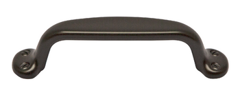 Suitcase Collection - Dark Oil Rubbed Bronze Pull 3-3/4 in.