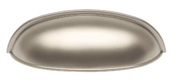 Mallard Collection - Matte Nickel Pull 3-1/8 in.