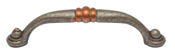 Stockton Collection - Pewter & Copper Pull 3-3/4 in.