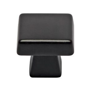 Keene Collection - Black Bronze Square Knob