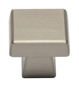 Keene Collection - Satin Nickel Square Knob