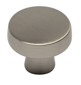 Keene Collection - Satin Nickel Round Knob