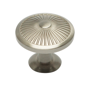 Amelia Collection - Satin Nickel Knob