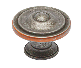Stockton Collection - Pewter & Copper Knob