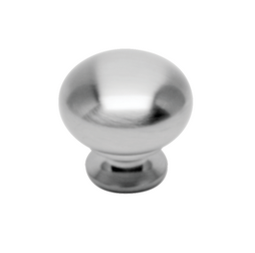 Meridian Collection - Matte Chrome Knob