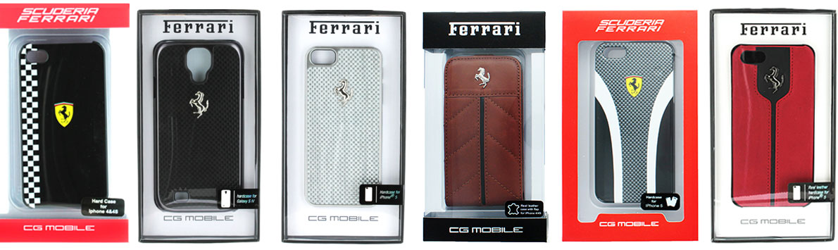 Creekle's selection of Ferrari Cell Phone Cases